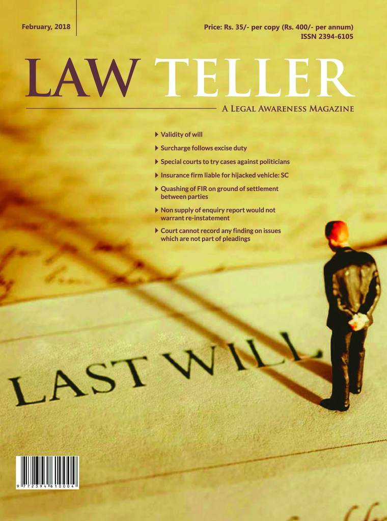 Majalah Digital Lawteller Februari 2018