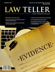 Lawteller Magazine Cover December 2017