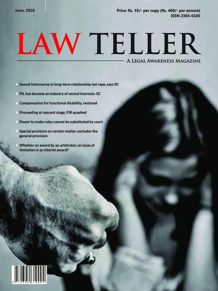 Majalah Digital Lawteller Juni 2018