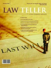 Lawteller Magazine Cover February 2018