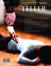 Cover Majalah Lawteller April 2018