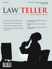 Lawteller Magazine Cover July 2018