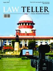 Cover Majalah Lawteller Agustus 2018