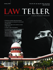 Lawteller Magazine Cover January 2019