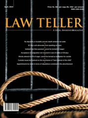 Lawteller Magazine Cover April 2019