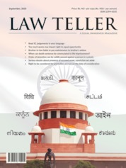 Lawteller Magazine Cover September 2019