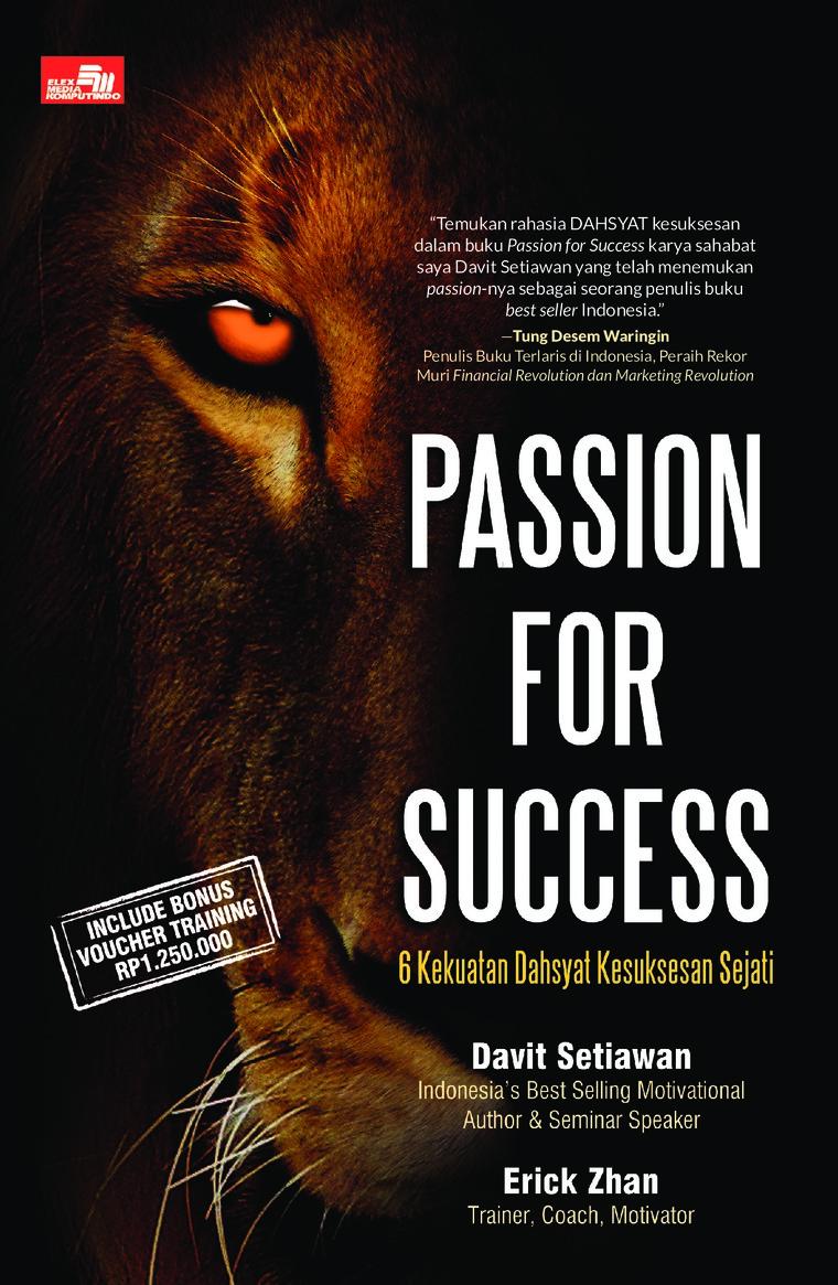 Buku Digital Passion for Success oleh Erick Zhan & Davit Setiawan