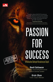 Passion for Success by Erick Zhan & Davit Setiawan Cover