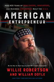 American Entrepreneur by Willie Robertson Cover