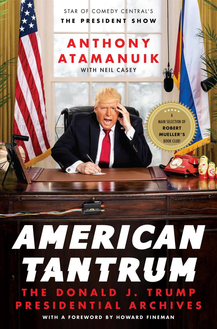 American Tantrum by Anthony Atamanuik Digital Book