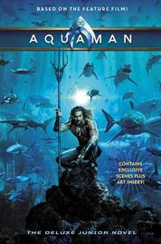Aquaman: The Junior Novel by Jim McCann Cover