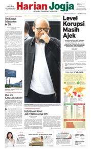 Harian Jogja Cover 23 February 2018