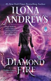Cover Diamond Fire oleh Ilona Andrews