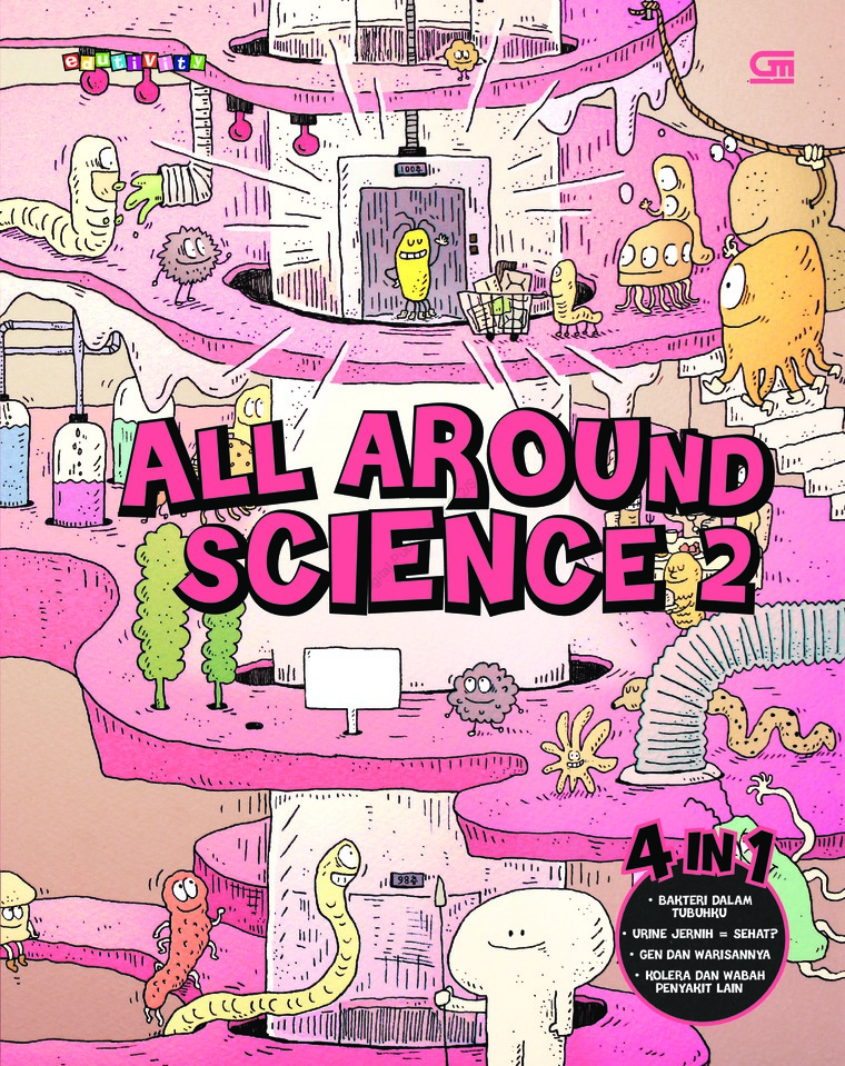 Buku Digital All Around Science#2 oleh Woongjin Think Big Co. Ltd