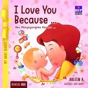 Cover My Baby Reads ! I Love You Because oleh Arleen A.
