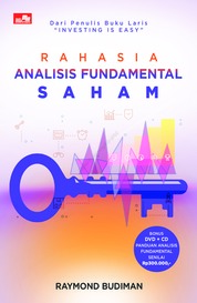 Rahasia Analisis Fundamental Saham by Raymond Budiman Cover