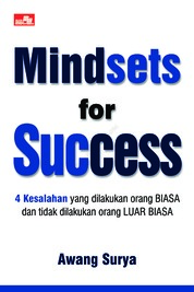 Mindsets for Success by Awang Surya Cover