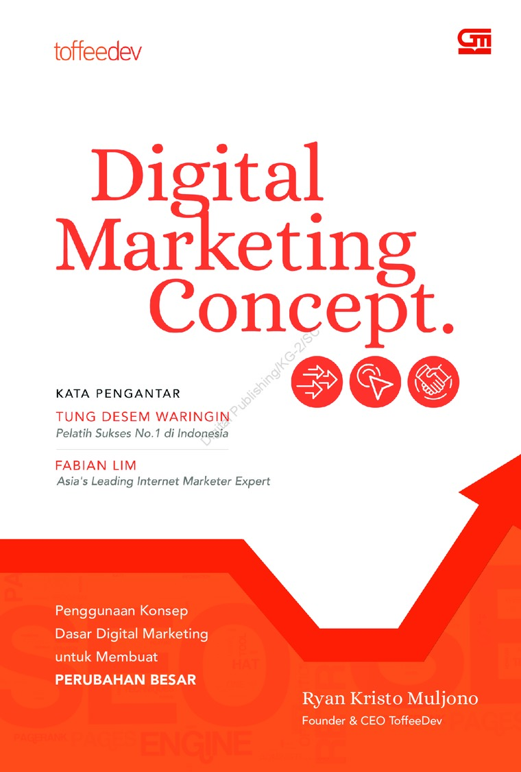 Buku Digital Digital Marketing Concept oleh Ryan Kristo Muljono