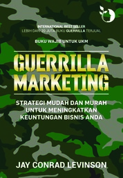 Cover Guerrilla Marketing oleh Jay Conrad Levinson