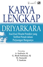 Cover Karya Lengkap Driyarkara oleh A. Sudiarja, SJ