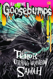 Goosebumps: Teror Orang-Orangan Sawah (The Scarecrow Walks at Midnight) by R.L. Stine Cover