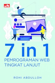 7 in 1 Pemrograman Web Tingkat Lanjut by Rohi Abdulloh Cover