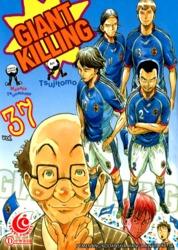 LC: Giant Killing 37 by Masaya Tsunamoto / Tsujitomo Cover