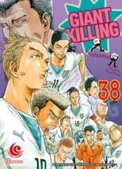 LC: Giant Killing 38 by Masaya Tsunamoto / Tsujitomo Cover