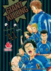 LC: Giant Killing 41 by Masaya Tsunamoto / Tsujitomo Cover