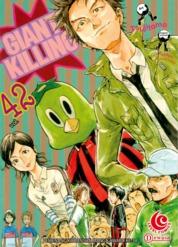 LC: Giant Killing 42 by Masaya Tsunamoto / Tsujitomo Cover