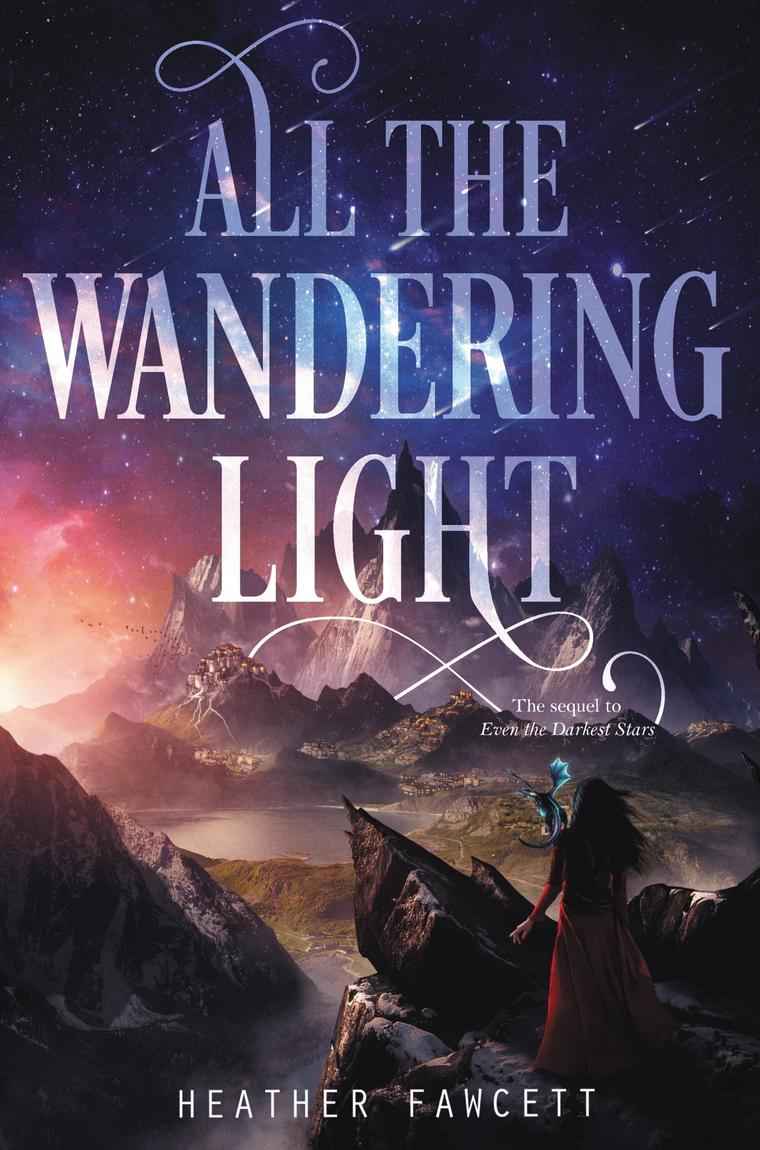 All the Wandering Light by Heather Fawcett Digital Book