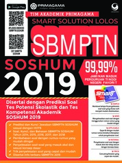 Primagama Smart Solution Lolos SBMPTN SOSHUM 2019 by Tim Akademik Primagama Cover
