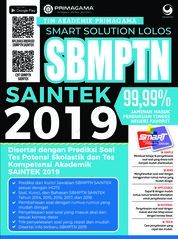 Cover Primagama Smart Solution Lolos SBMPTN SAINTEK 2019 oleh Tim Akademik Primagama