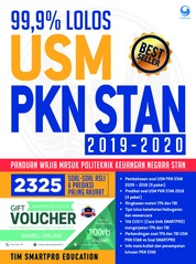 Cover 99.9% Lolos USM PKN STAN 2019 -2020 oleh TIM SMARTPRO EDUCATION
