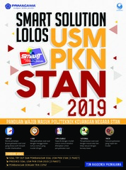 Cover Primagama Smart Solution Lolos USM PKN STAN 2019 oleh Tim Akademik Primagama