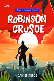 Robinson Crusoe by Daniel Defoe Cover