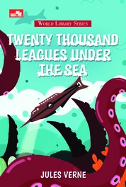 Cover Twenty Thousand Leagues Under The Sea oleh Jules Verne