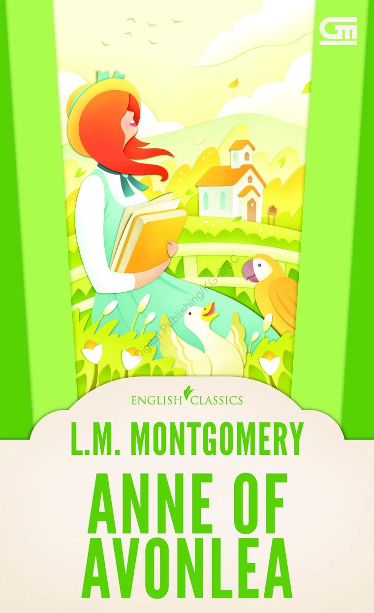 English Classics: Anne of Avonlea by L.M. Montgomery Digital Book