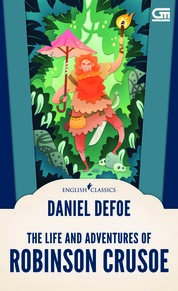 Cover English Classics: Robinson Crusoe oleh Daniel Defoe