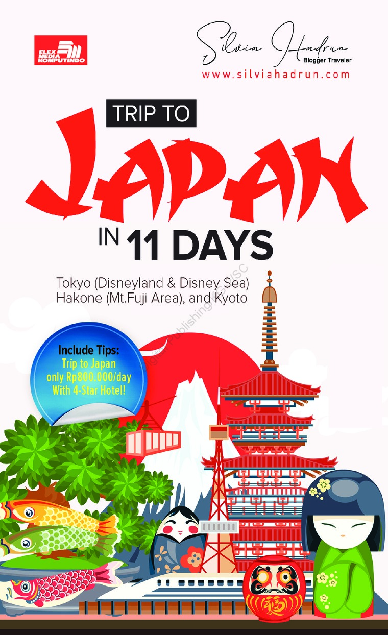 Buku Digital Trip to Japan in 11 Days oleh Silvia Hadrun