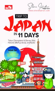 Trip to Japan in 11 Days by Silvia Hadrun Cover