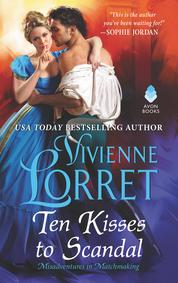 Cover Ten Kisses to Scandal oleh Vivienne Lorret