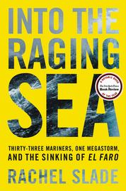 Into the Raging Sea by Rachel Slade Cover