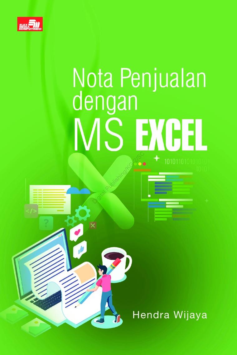 Buku Digital Nota Penjualan dengan MS Excel oleh Hendra Wijaya