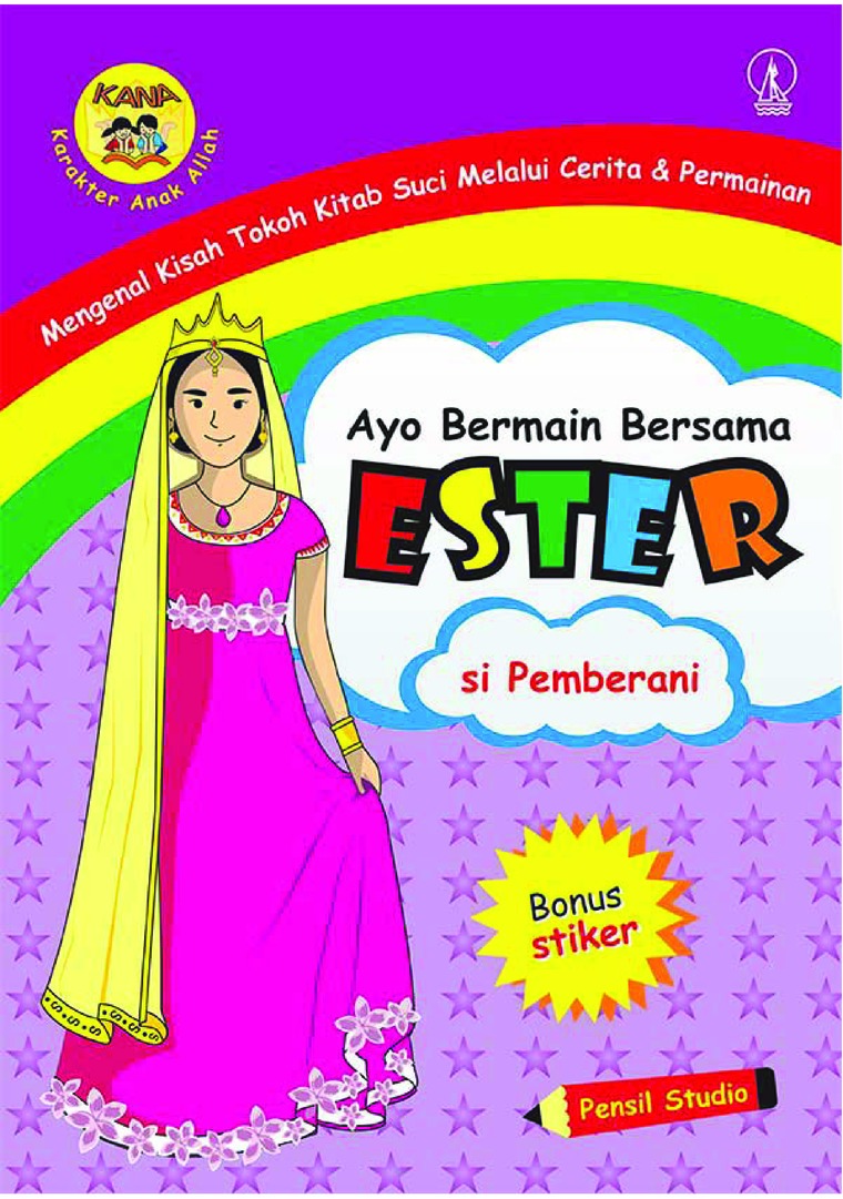 Buku Digital Ayo Bermain Bersama Ester: Si Pemberani oleh Pensil Studio
