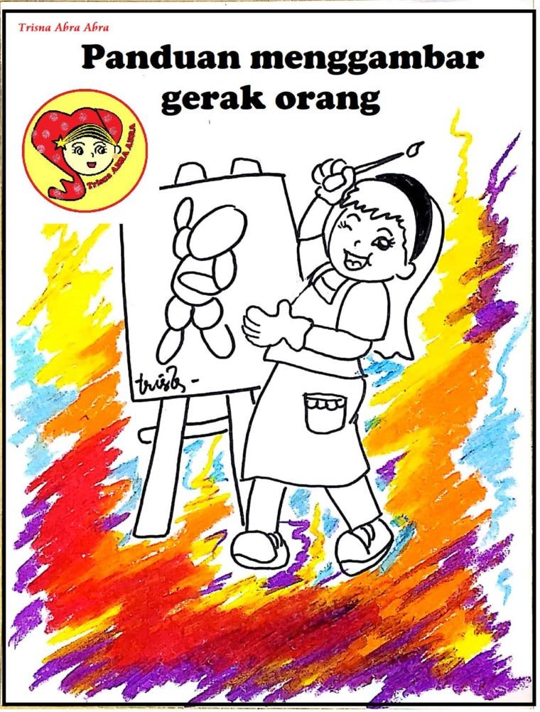 Buku Digital Panduan Menggambar Gerak Orang oleh TRISNA AMBAR WATI ( Trisna Abra Abra )