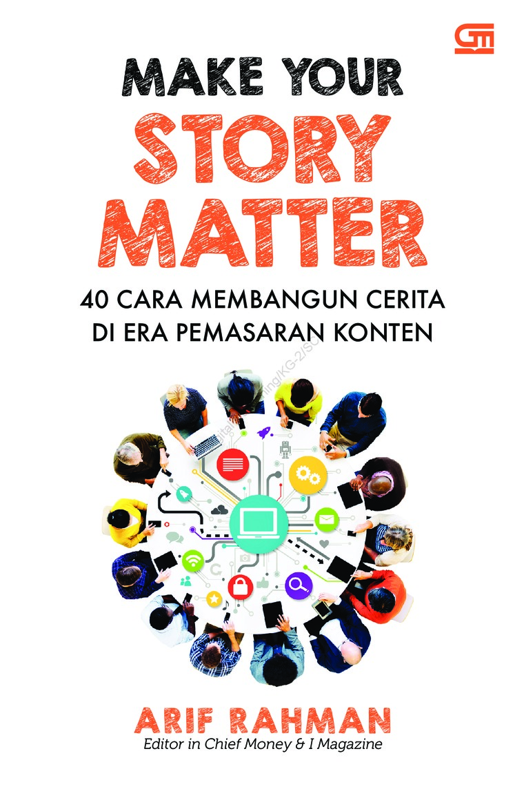 Buku Digital Make Your Story Matter oleh Arif Rahman
