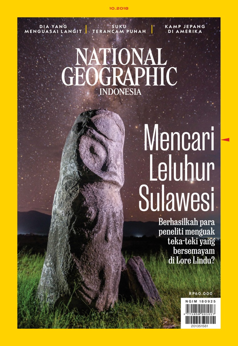 Majalah Digital NATIONAL GEOGRAPHIC ID ED 10 Oktober 2018