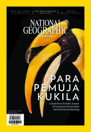 NATIONAL GEOGRAPHIC ID Magazine Cover ED 01 January 2018