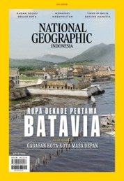 Cover Majalah NATIONAL GEOGRAPHIC ID ED 04 April 2019